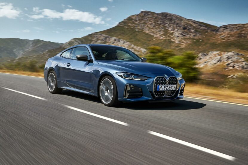 2021 BMW 4 Series Coupe: Cutting-edge chassis and suspension technology