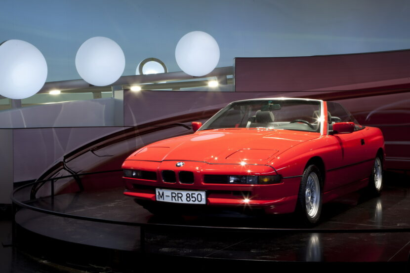 BMW 850i Convertible E31 prototype 1 830x553