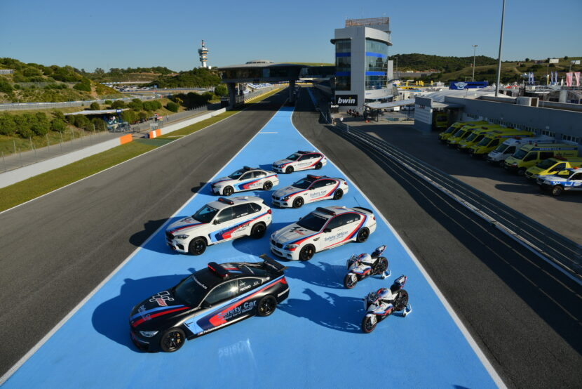BMW M Safety Cars of the 2014 MotoGP Season 830x554