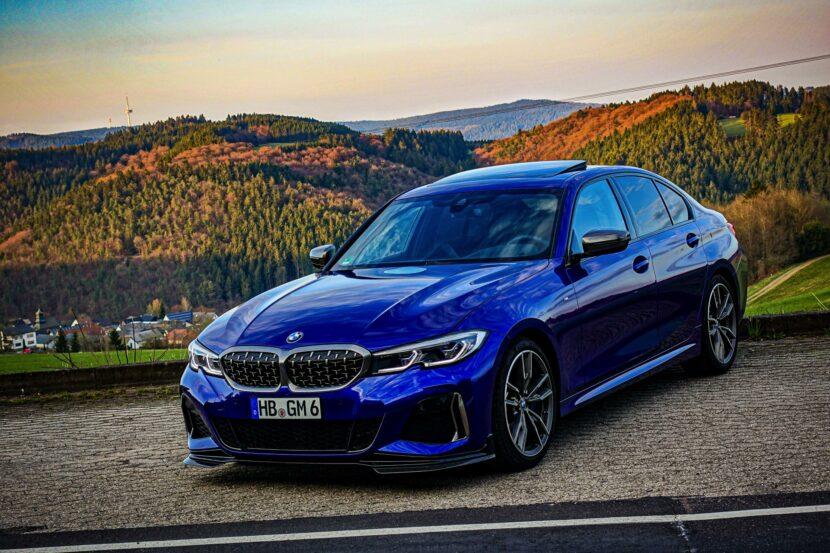 BMW M340i G20 Individual San Marino Blau 06 830x553