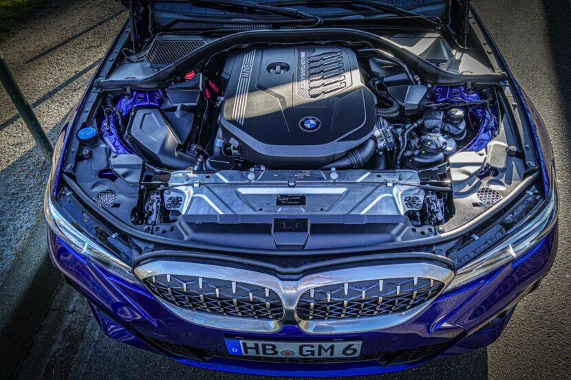 BMW M340i G20 Individual San Marino Blau 18 830x553