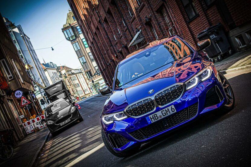 BMW M340i G20 Individual San Marino Blau 21 830x553