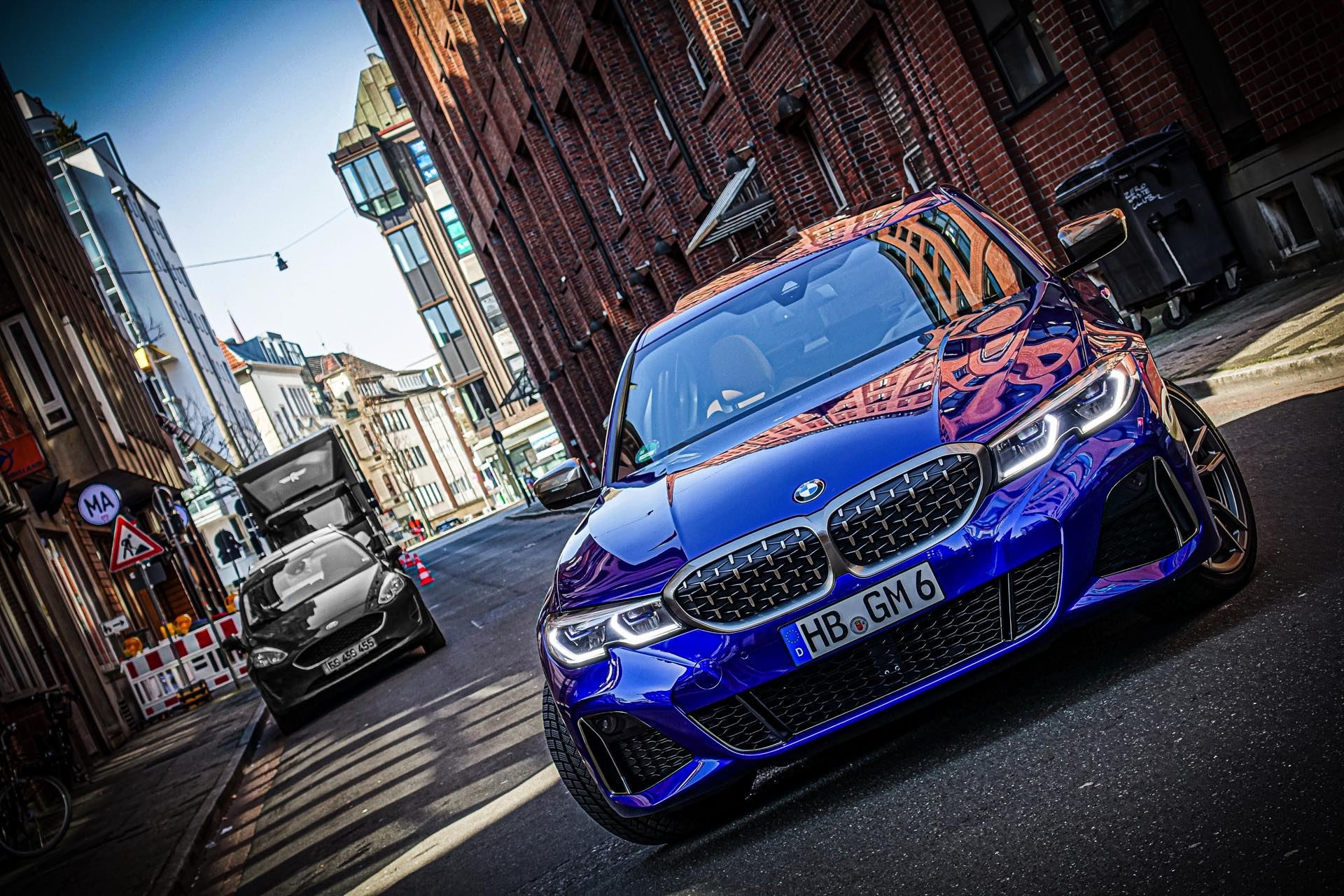 BMW M340i G20 Individual San Marino Blau 21