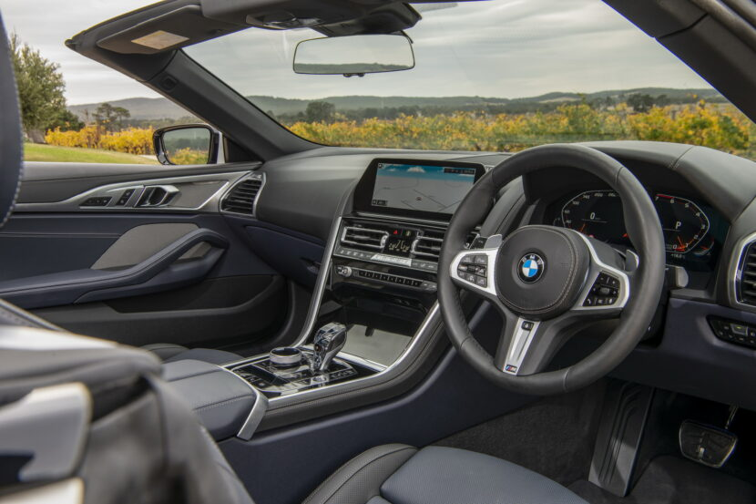 BMW M850i xDrive Convertible G14 AU 30 830x553