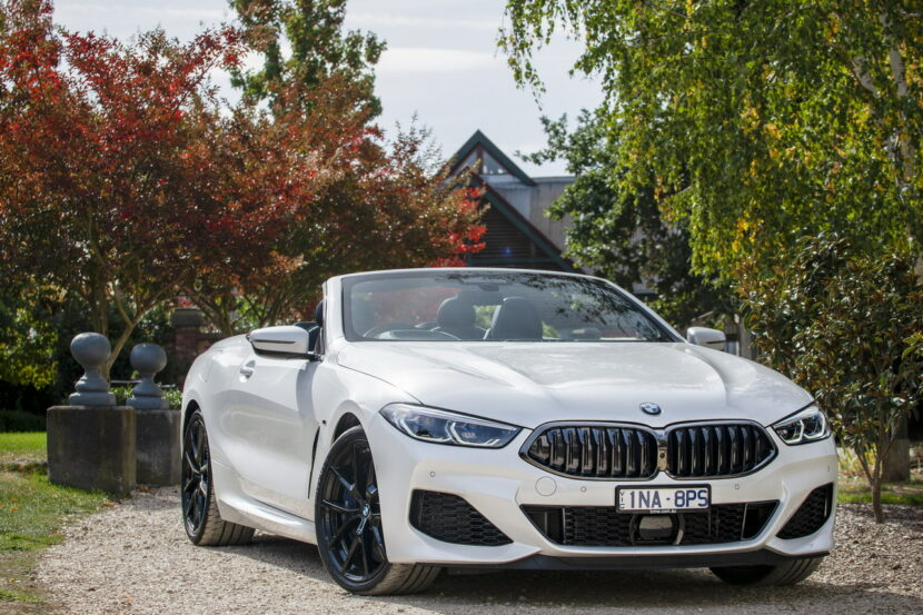 BMW M850i xDrive Convertible G14 AU 60 830x553