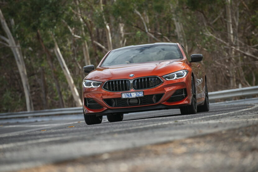 BMW M850i xDrive Coupe in Sunset Orange AU 27 830x553