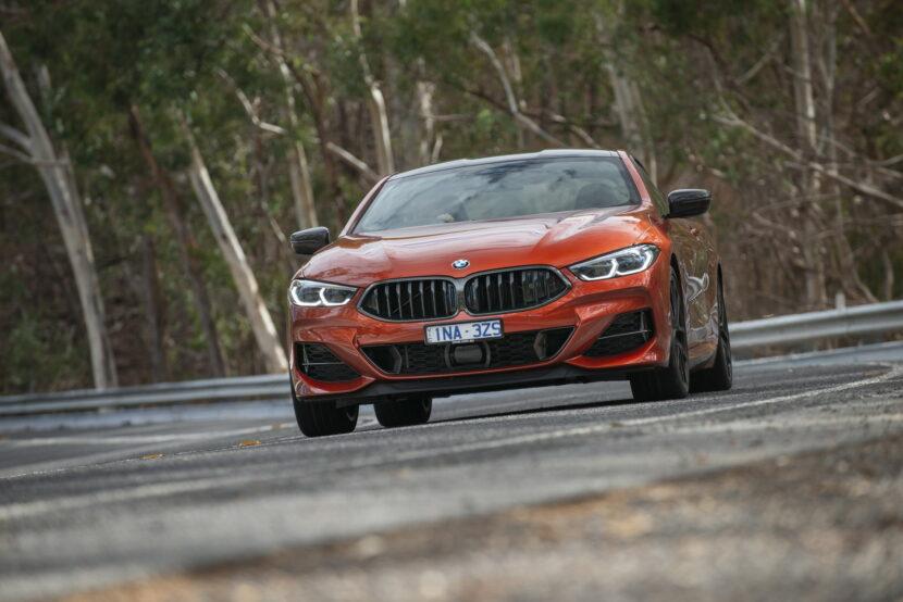 BMW M850i xDrive Coupe in Sunset Orange AU 27 830x554