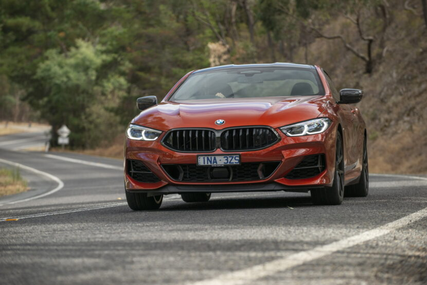 BMW M850i xDrive Coupe in Sunset Orange AU 28 830x554