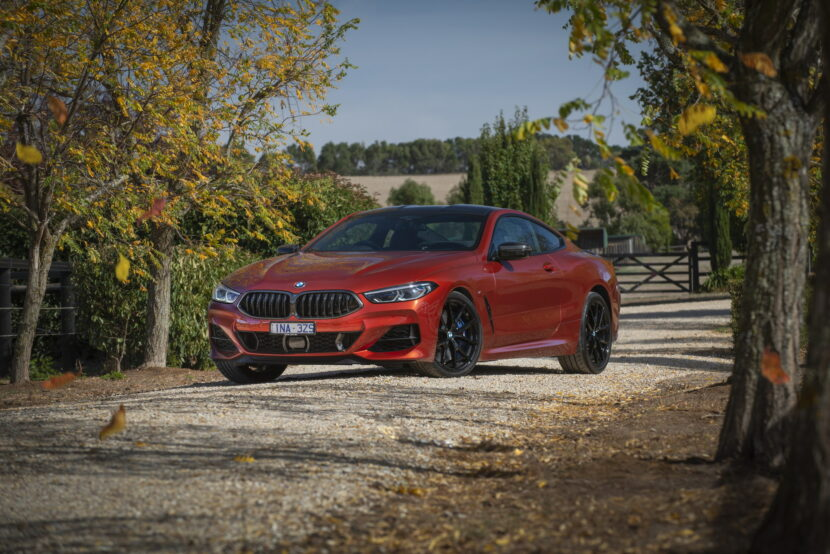 BMW M850i xDrive Coupe in Sunset Orange AU 56 830x554