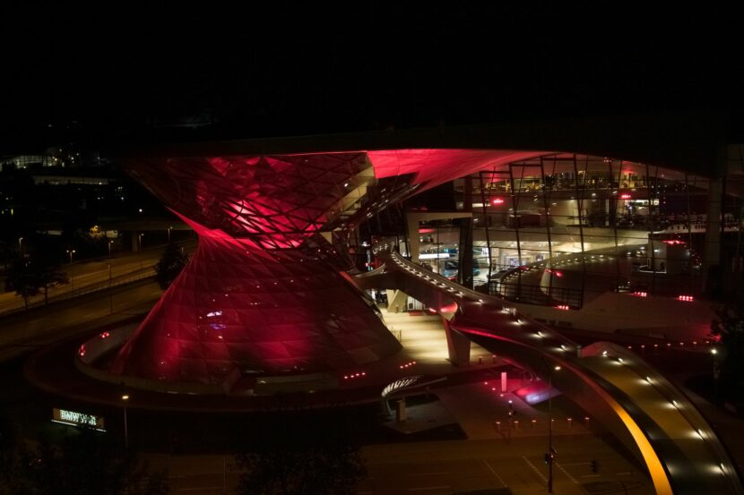 BMW Welt special lighting 1 830x553