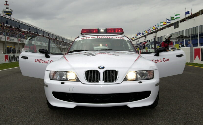 BMW Z3 M Coupe MotoGP Safety Car 1 830x511