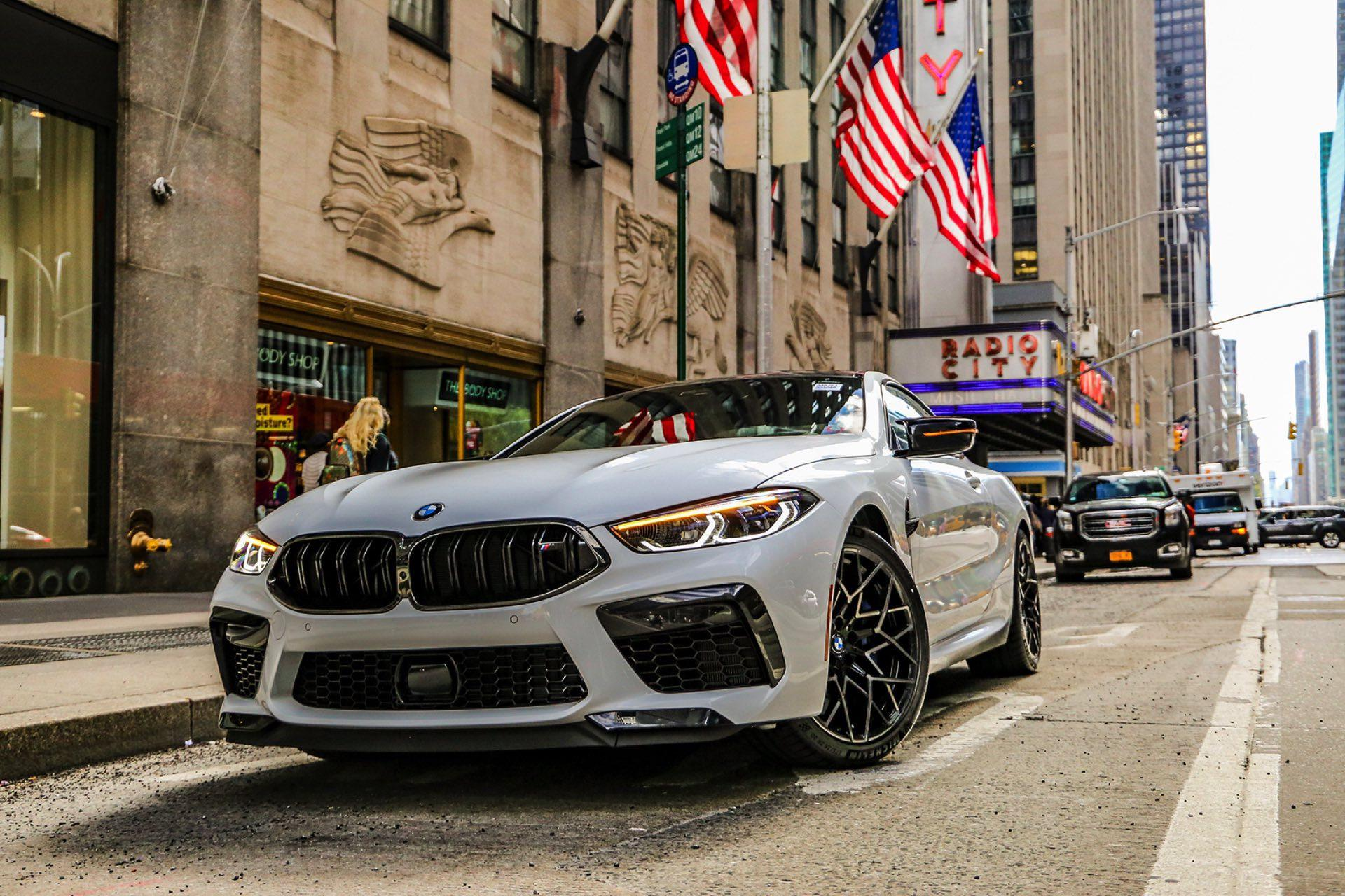 BMW m8 coupe new york 01