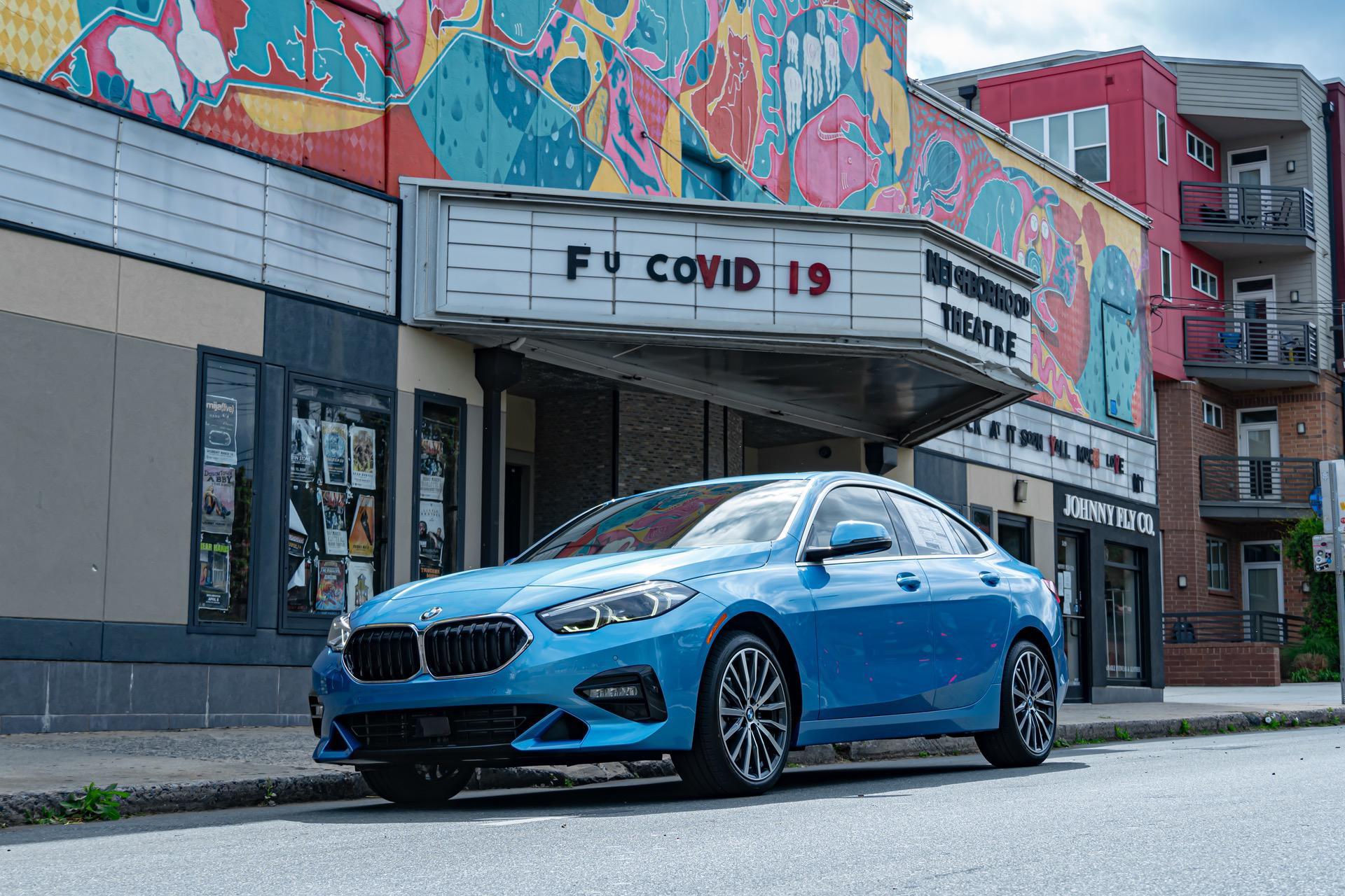 BMW228i Gran Coupe Sea Blue Metallic 09