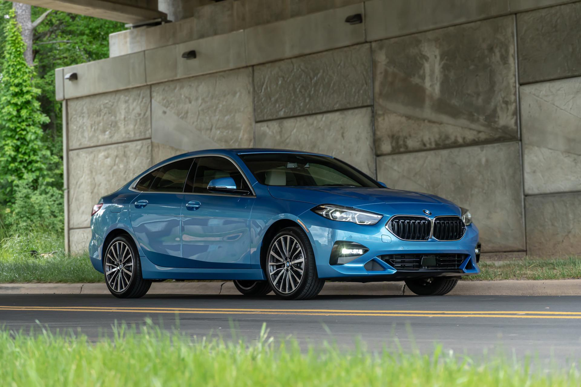 BMW228i Gran Coupe Sea Blue Metallic 12