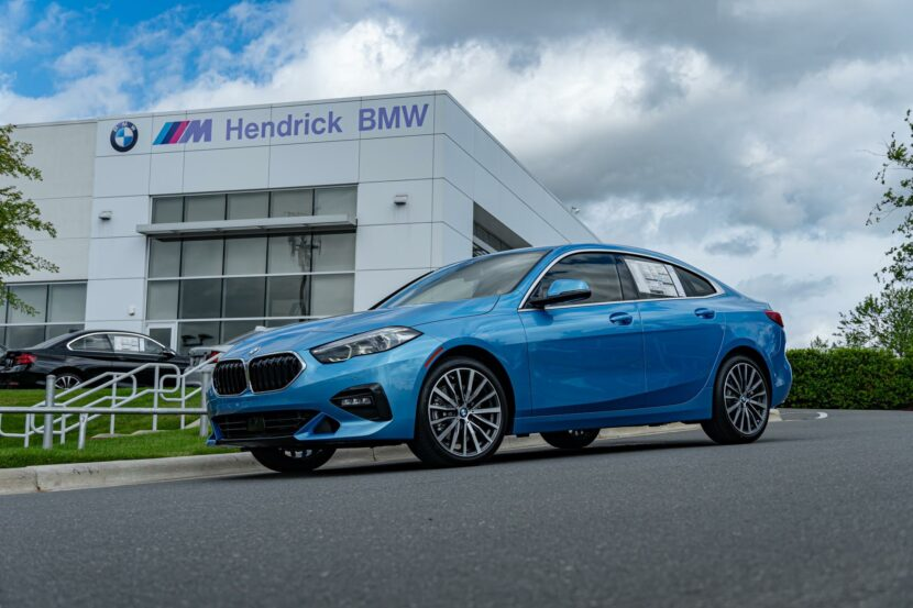 BMW228i Gran Coupe Sea Blue Metallic 13 830x553