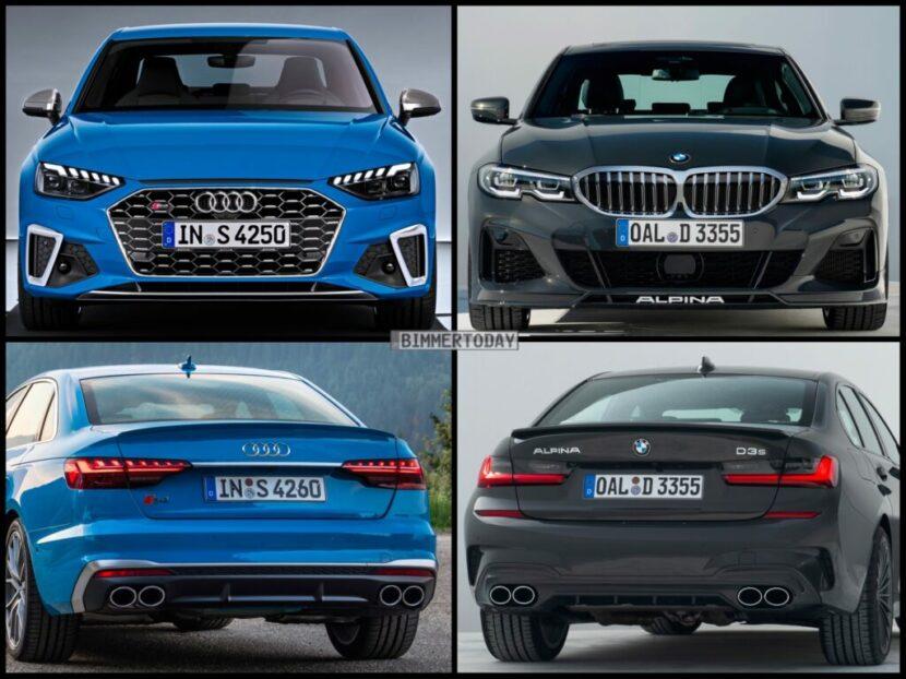 Bild Vergleich BMW Alpina D3 S G30 G31 Audi S4 TDI 2020 03 1024x767 1 830x622