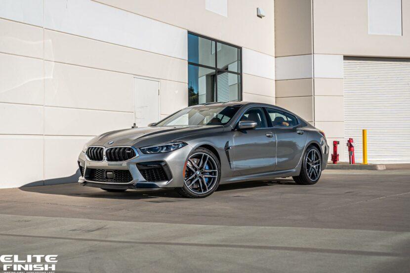 Donington Grey Metallic BMW M8 Gran Coupe 01 830x553