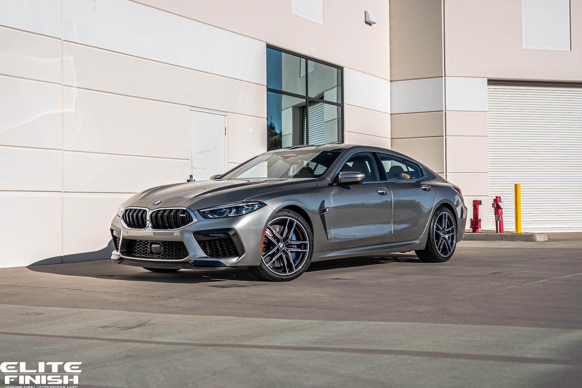 Donington Grey Metallic BMW M8 Gran Coupe 01