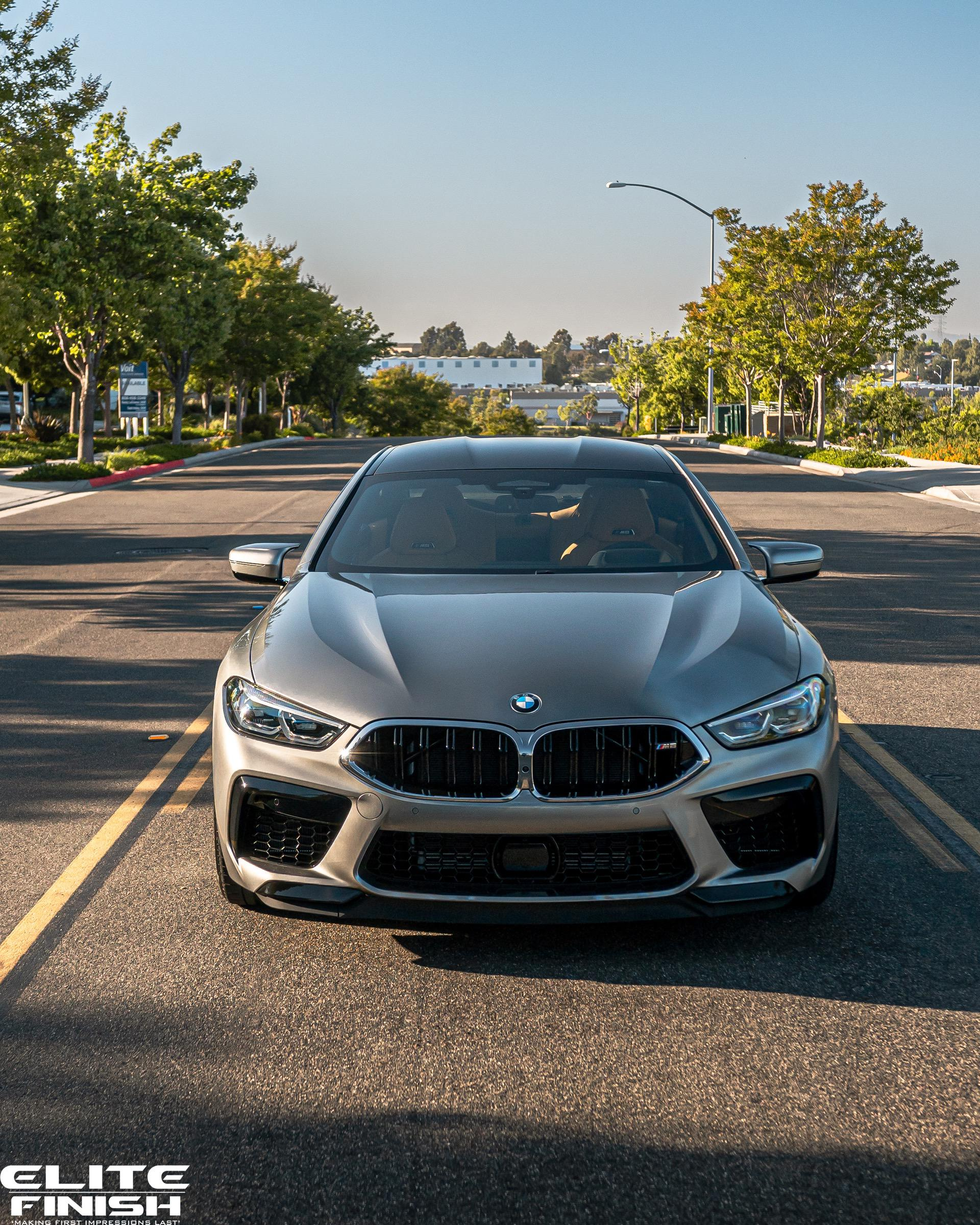 2020 Bmw M8 Red: Stunning BMW M8 Gran Coupe In Donington Grey Metallic Over