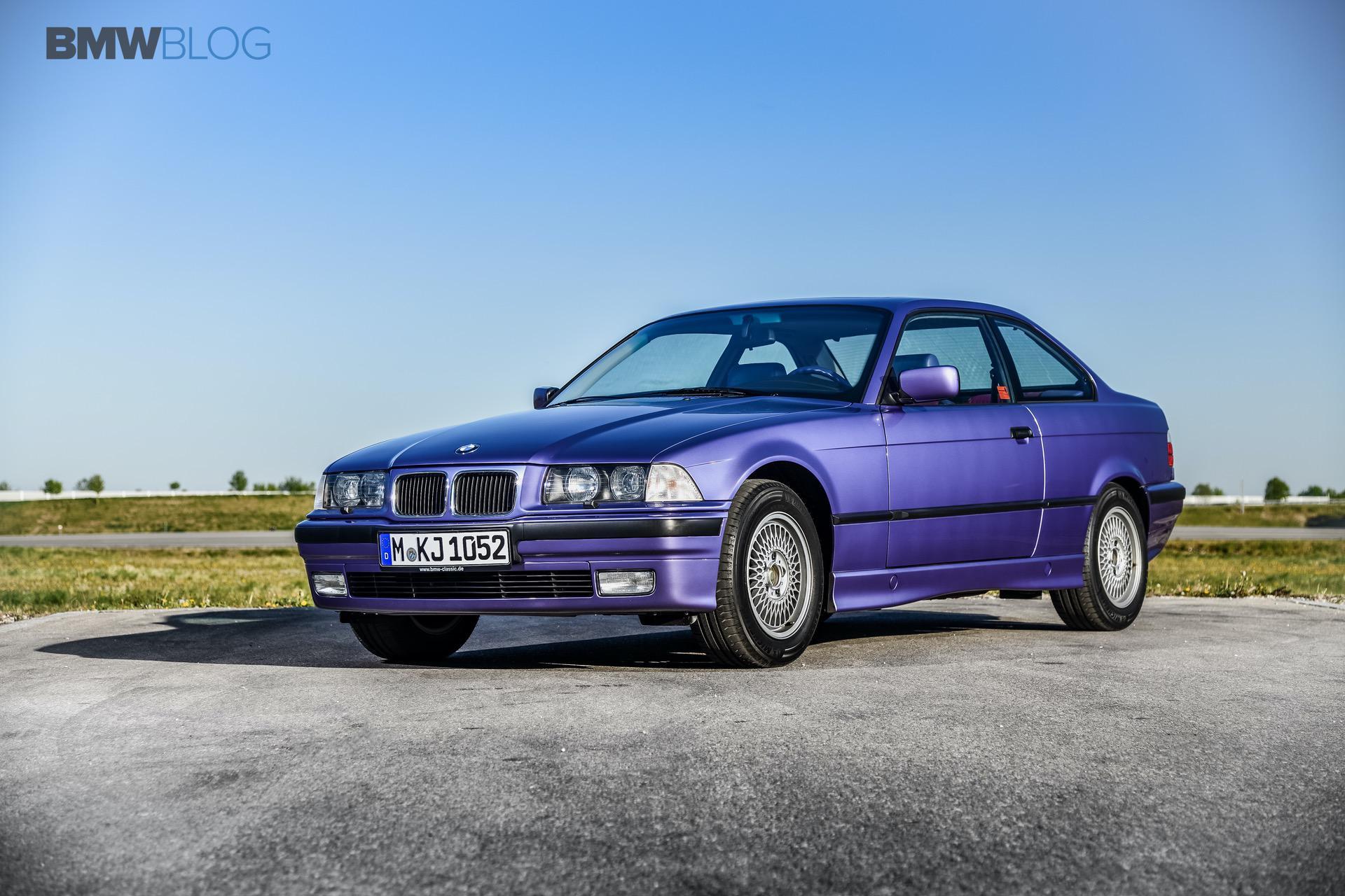 E36 BMW 325i Violet 15