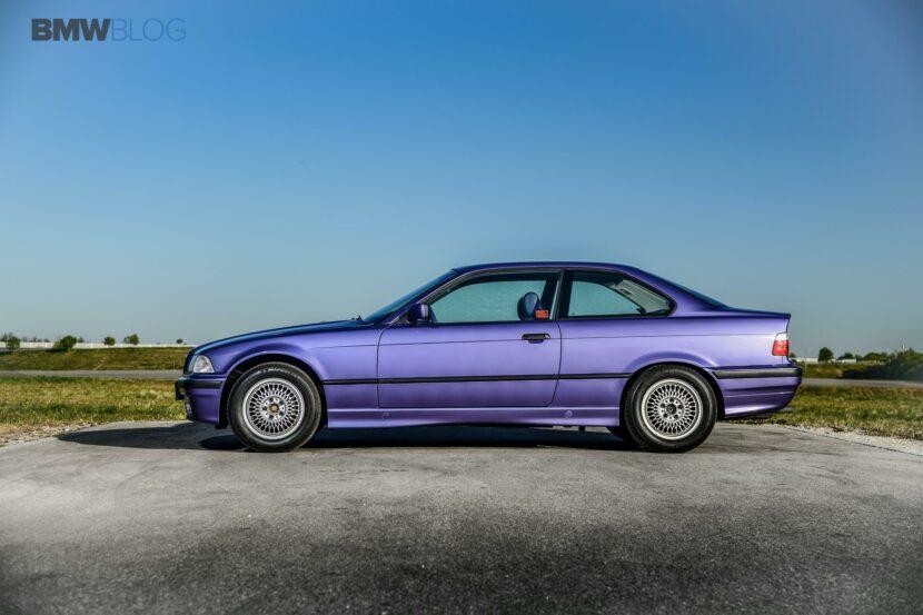 E36 BMW 325i Violet 17 830x553