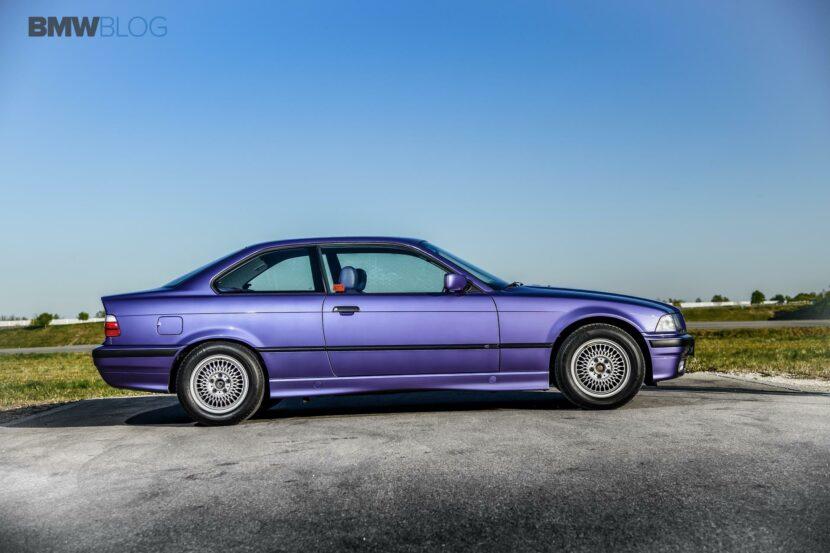 E36 BMW 325i Violet 18 830x553