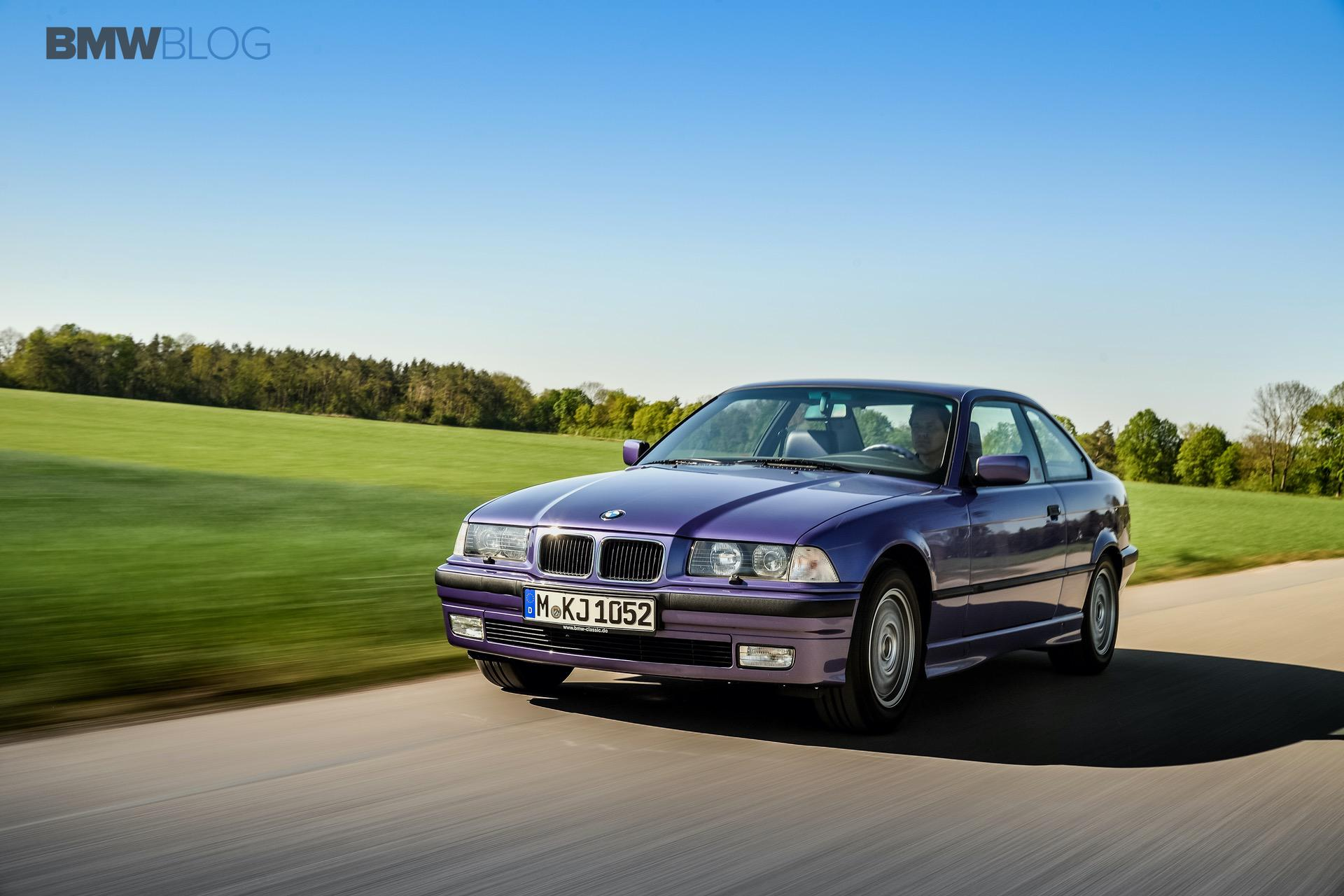TEST DRIVE: E36 BMW 325i in Individual Violet Metallic