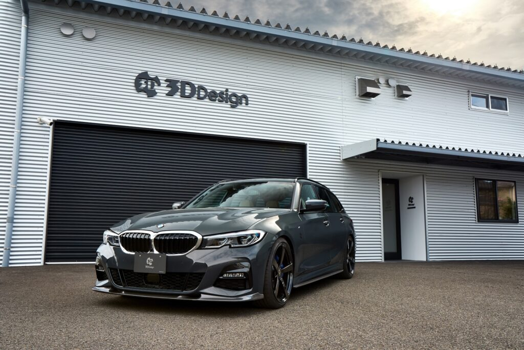 3D Design's G21 BMW 3 Series Touring exterior kit looks angry