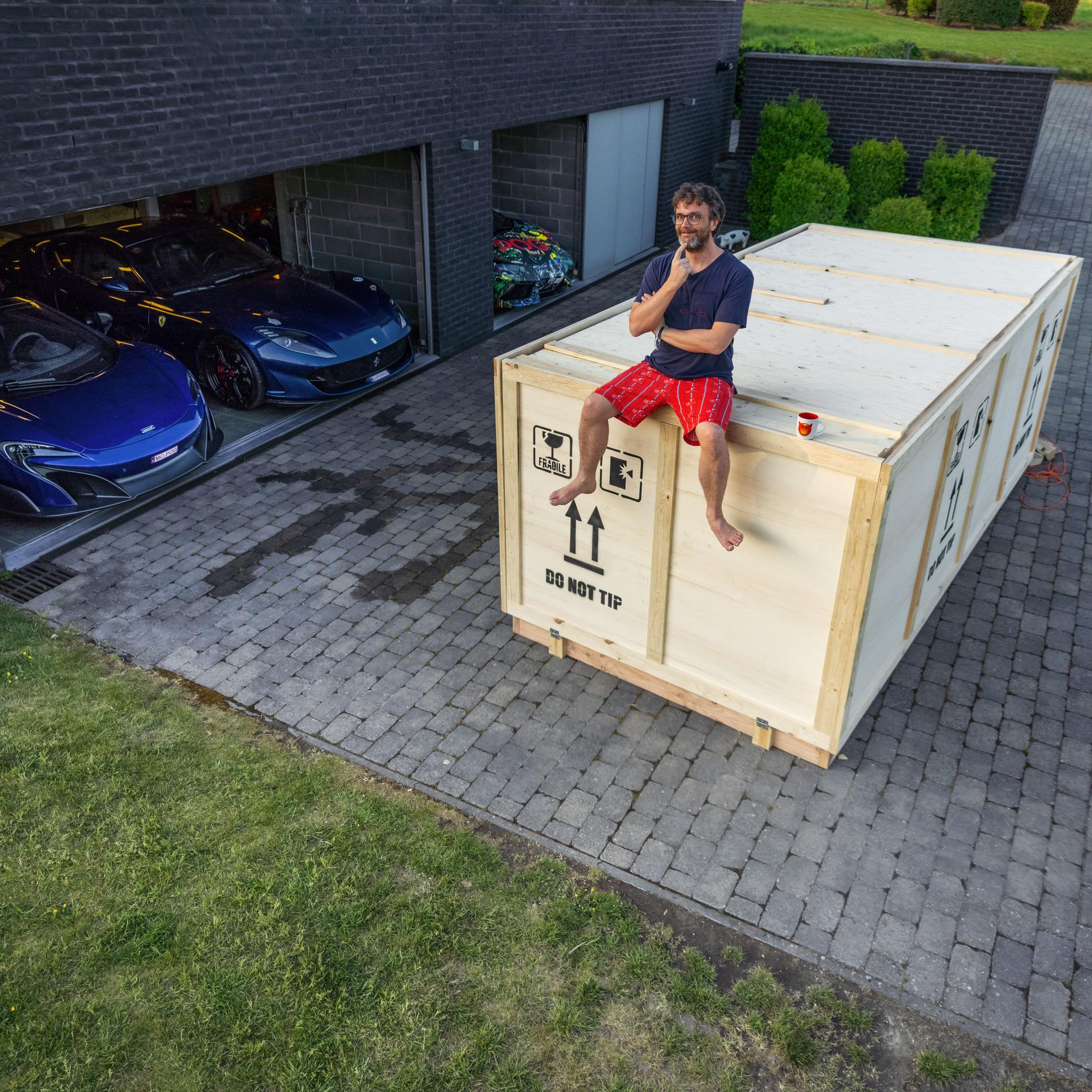 MINI Belux Delivers All New John Cooper Works GPs At Home