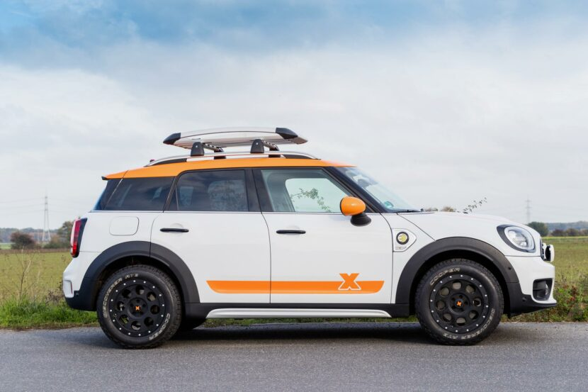 MINI Countryman X Raid 2020 07 830x553