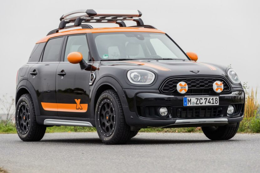 MINI Countryman X Raid 2020 09 830x553