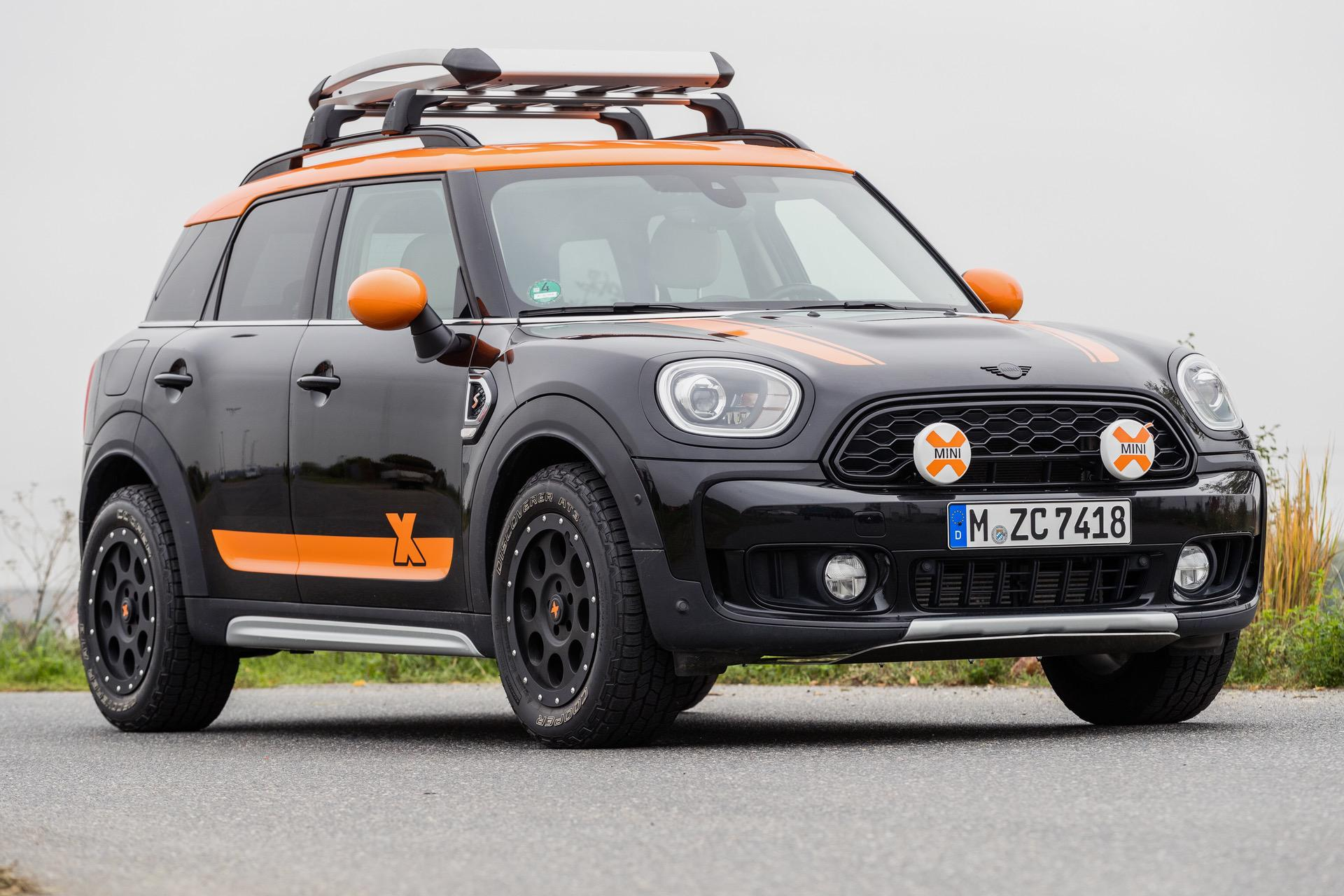 MINI Countryman X Raid 2020 09