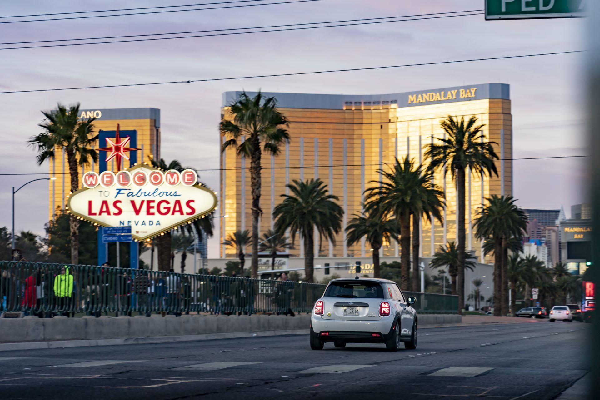 MINI Electric in Las Vegas 1
