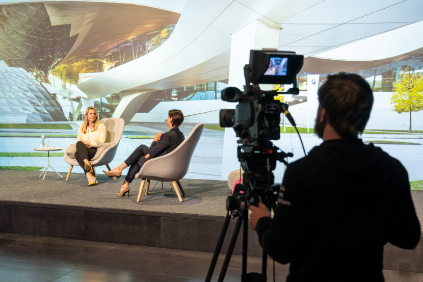BMW Welt now has three streaming and TV studios