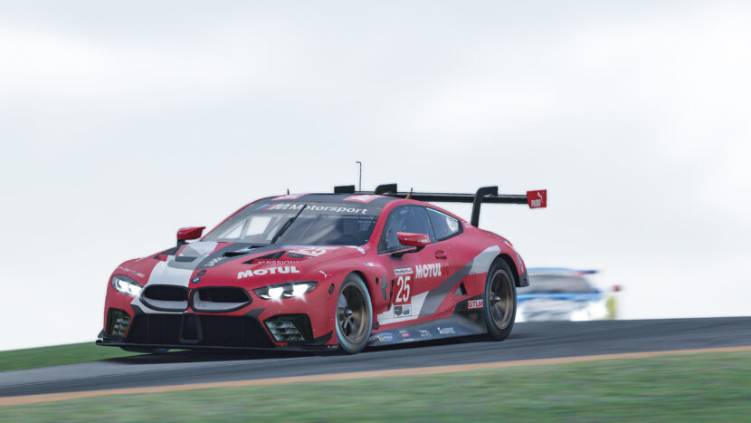 Spengler fifth in latest BMW outing in the IMSA iRacing Pro Series