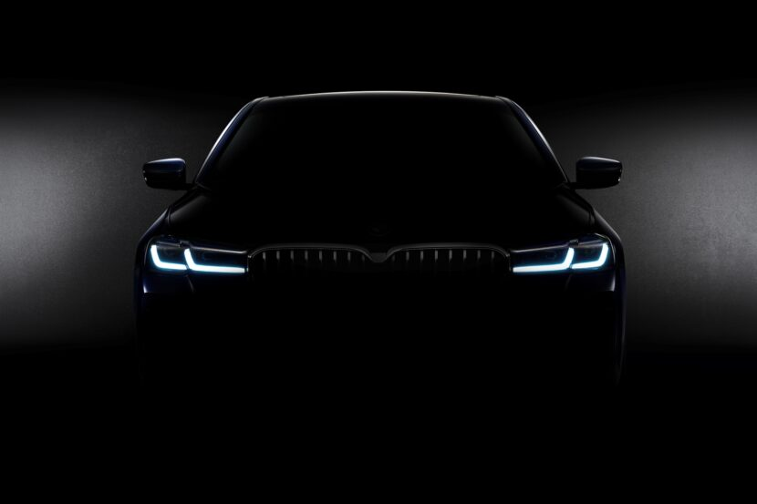The All New BMW 5 Series LCI Teaser Photo 830x553