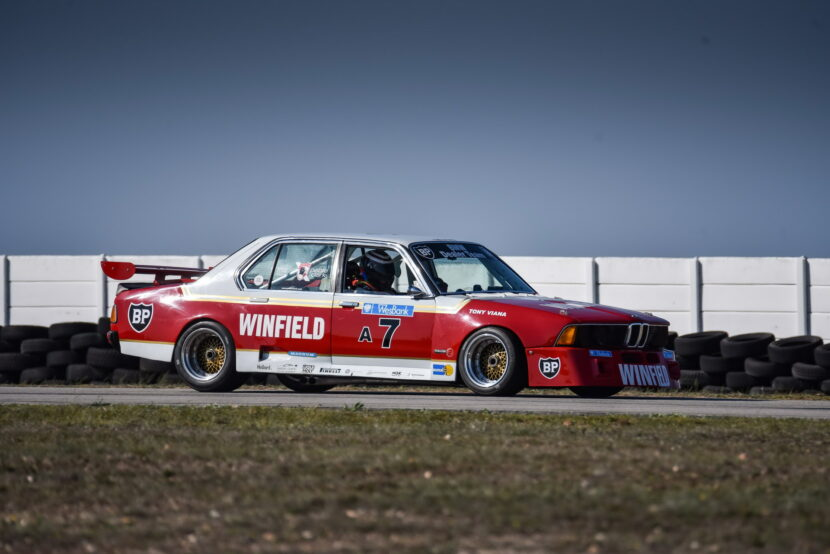 The E23 BMW 745i Winfield race car 28 830x554