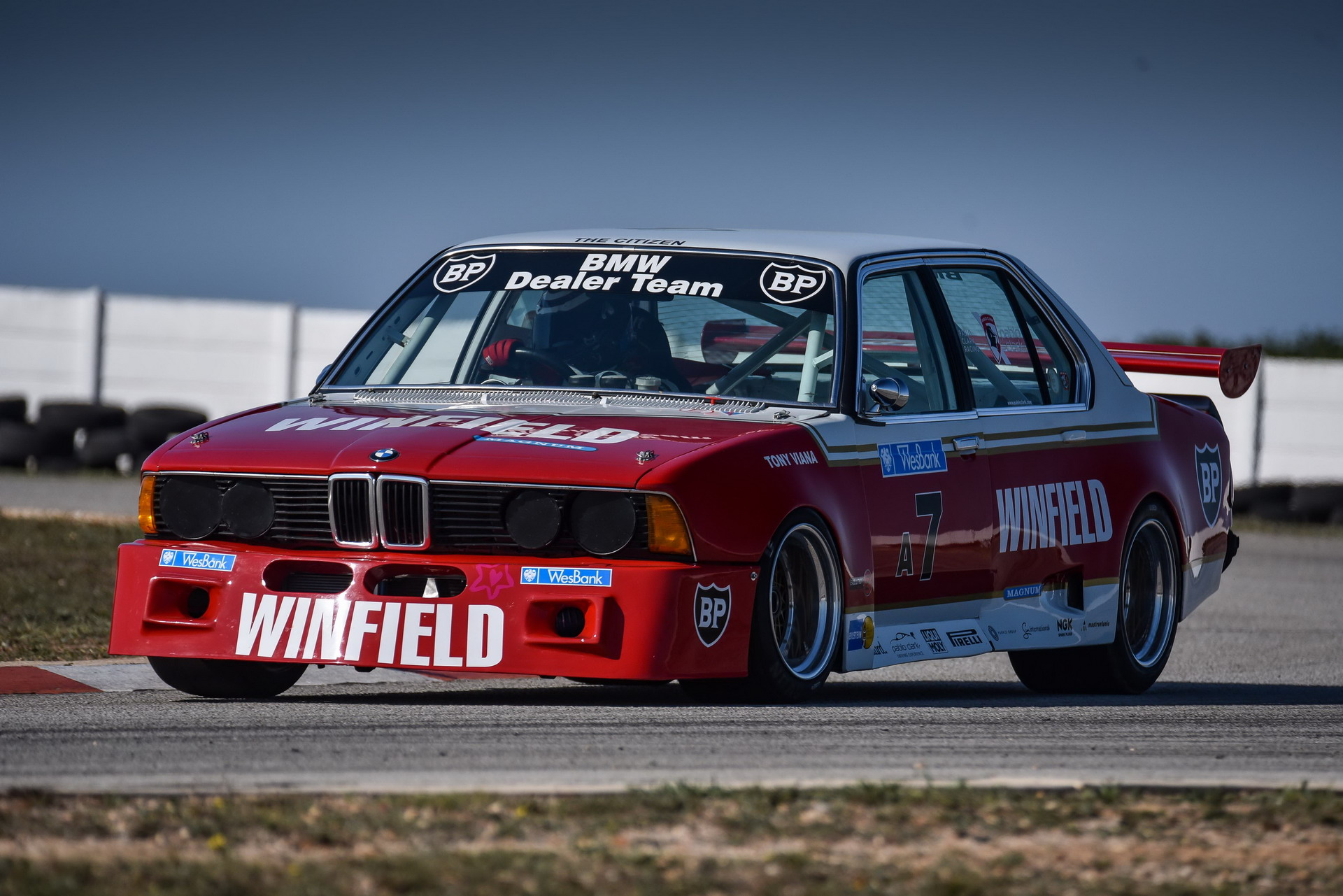 The E23 BMW 745i Winfield race car 32