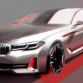 The New BMW 5 Series LCI Design Sketch 1 120x120