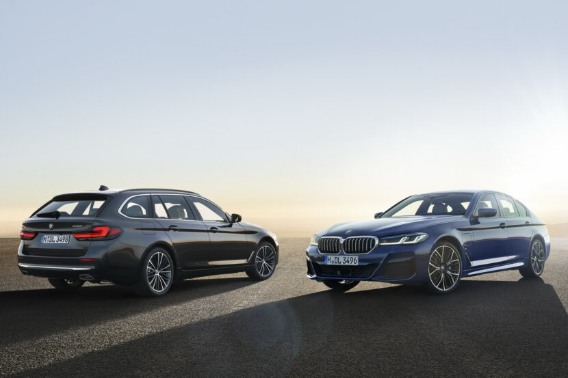 The New BMW 5 Series LCI Family Shots 1 830x553