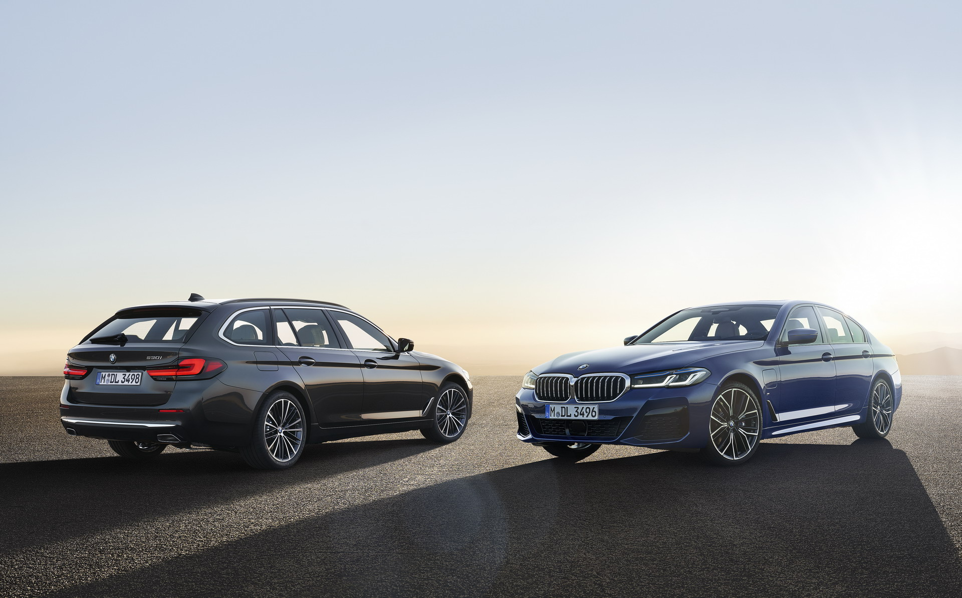 The New BMW 5 Series LCI Family Shots 1