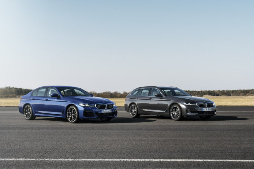 The New BMW 5 Series LCI Family Shots 3 830x553