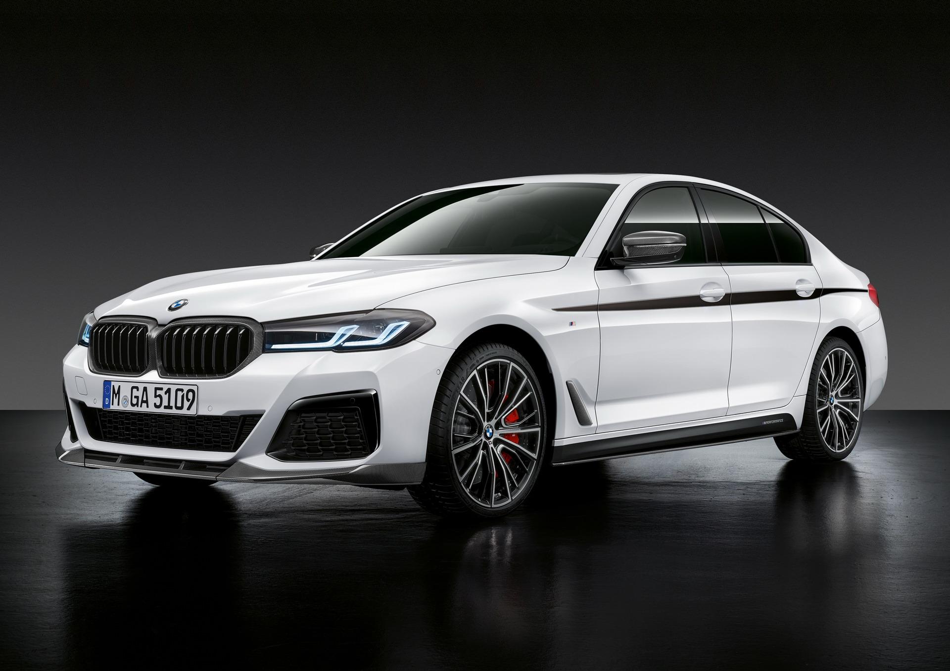 The New BMW 5 Series LCI M Performance Parts 2