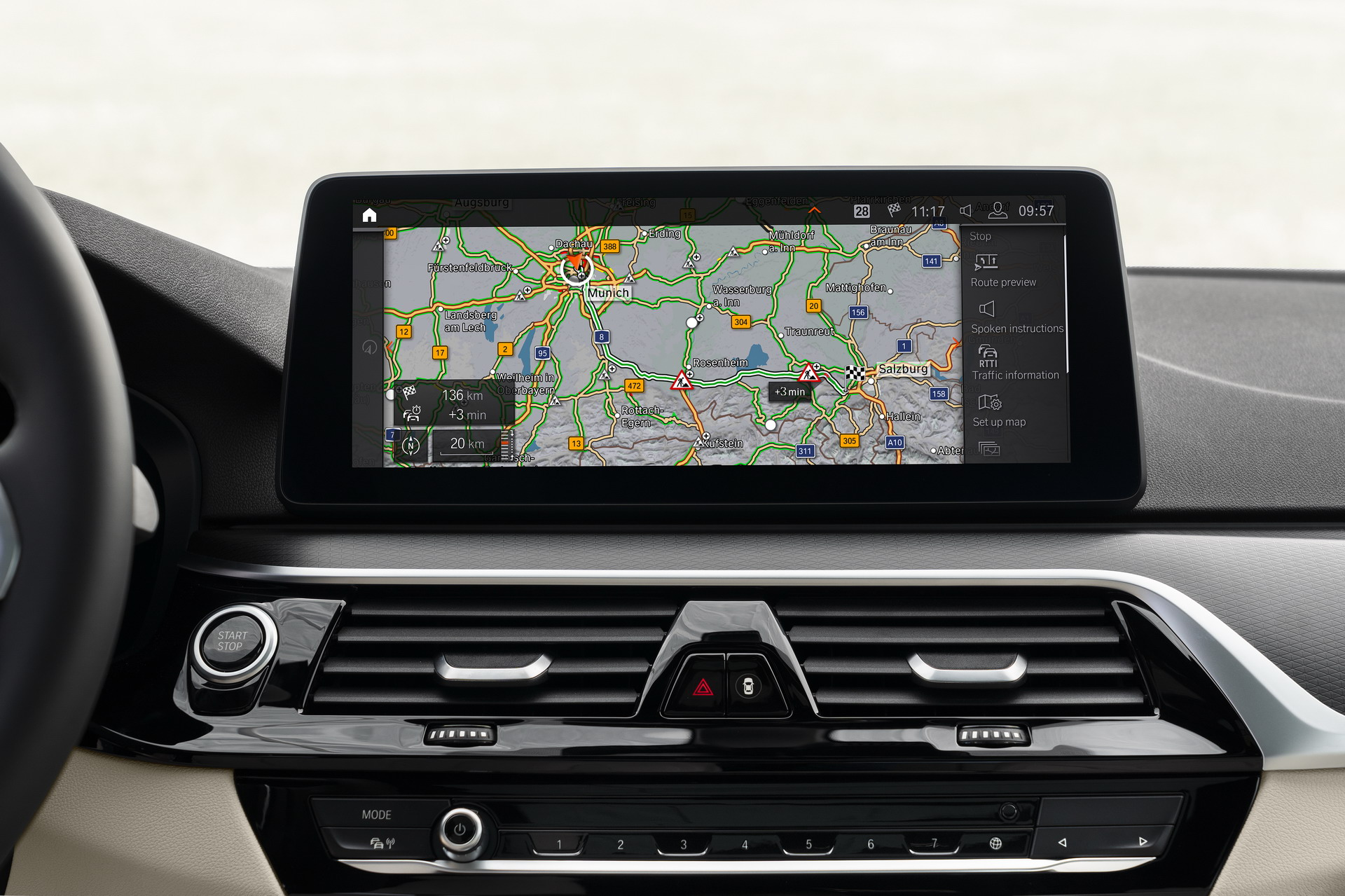 The New BMW 5 Series LCI Technology 3