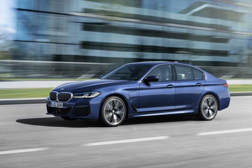 The New BMW 530e M Sport G30 LCI 39 830x553
