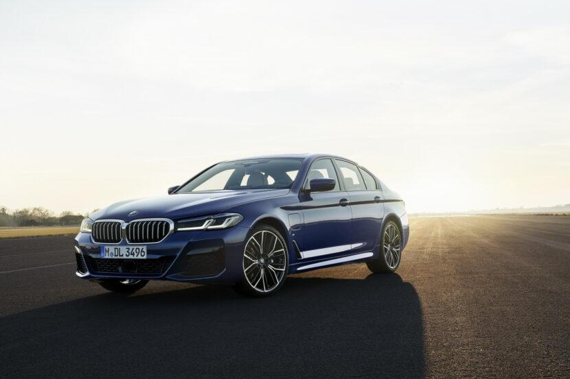 The New BMW 530e M Sport G30 LCI 43 830x553