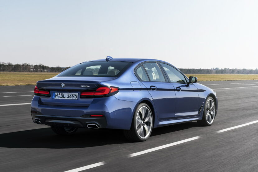 The New BMW 530e M Sport G30 LCI 46 830x553