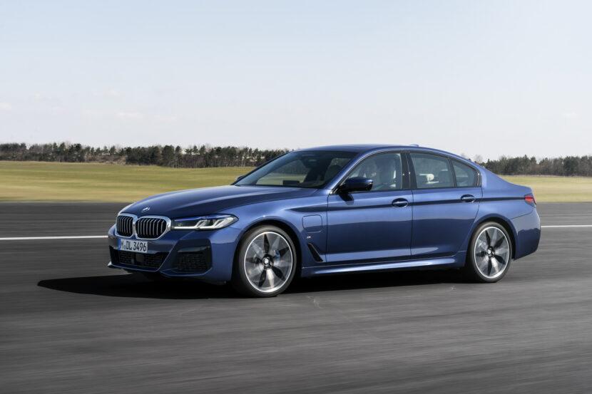 The New BMW 530e M Sport G30 LCI 47 830x553