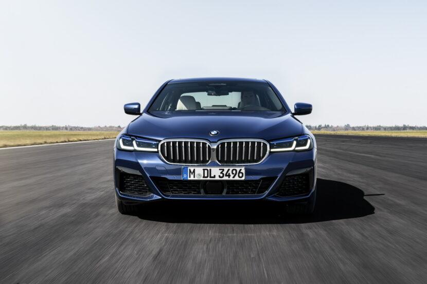 The New BMW 530e M Sport G30 LCI 48 830x553
