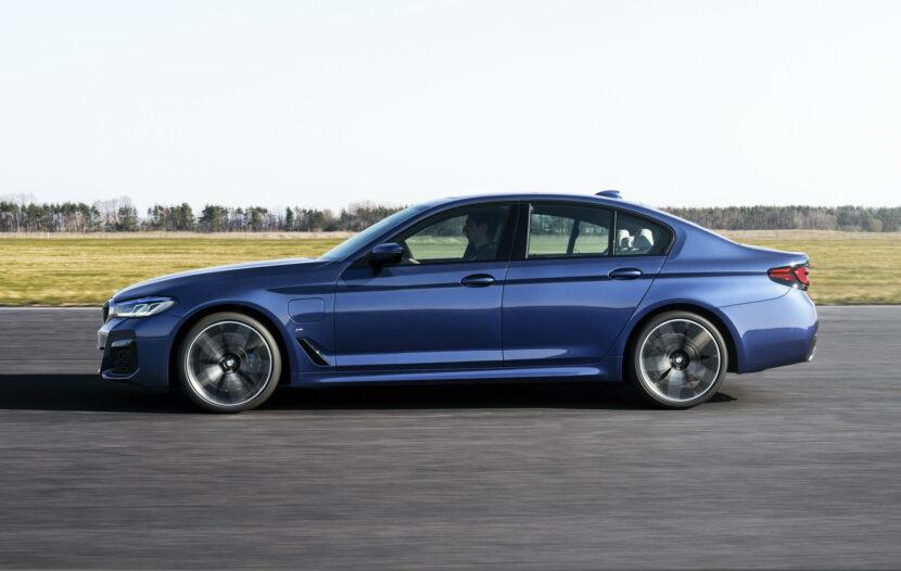 The New BMW 530e M Sport G30 LCI 52 830x526